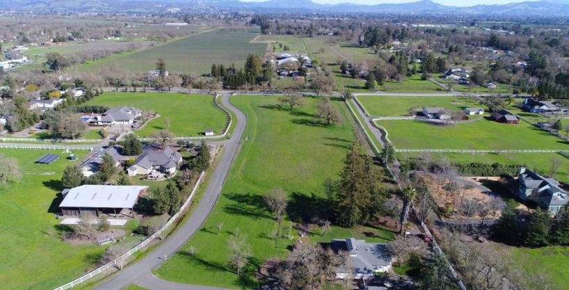 Gorgeous 4+ Acre Lot in Santa Rosa