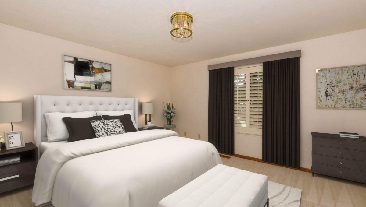 Staged Bed 1