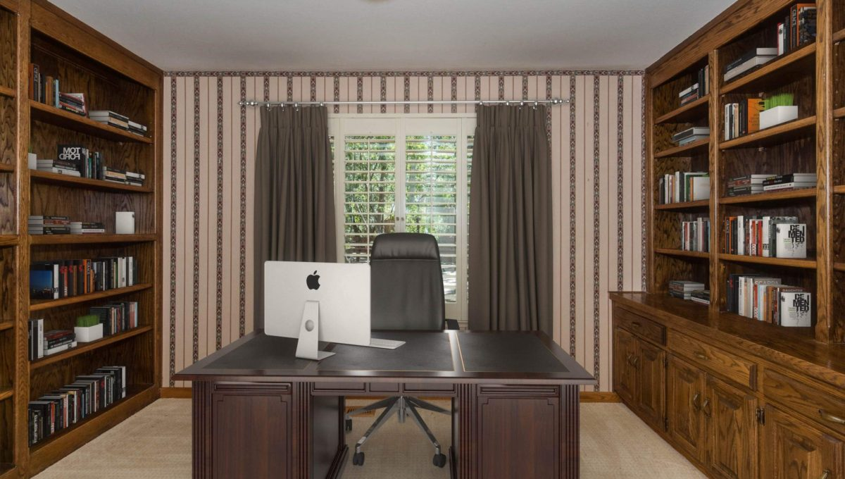 Staged Office
