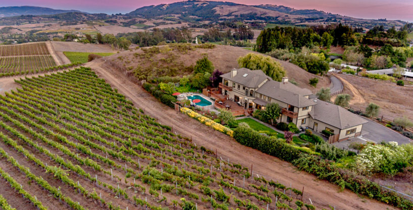 Quintessential Wine Country Estate with Breathtaking Views
